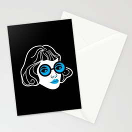 Lookout! Blue Version Stationery Cards