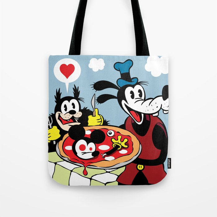 MICKEY'S PIZZA Tote Bag