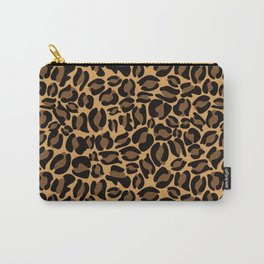 Leopard Print   Cheetah texture pattern Carry-All Pouch
