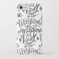 imagine iPhone & iPod Cases featuring IMAGINE by Matthew Taylor Wilson