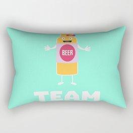 Team Bride Beerbottle B5s42 Rectangular Pillow