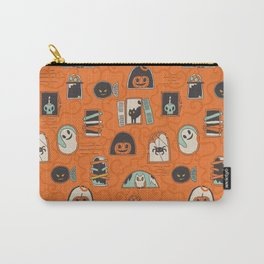 Halloween windows Carry-All Pouch