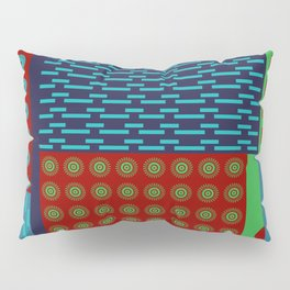 Japanese Style Colorful Patchwork Pillow Sham
