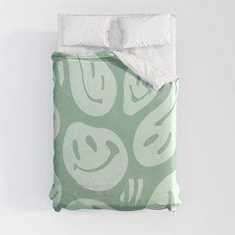 Liquify Minty Fresh Duvet Cover
