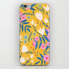 Magnolias and Camellias! iPhone & iPod Skin