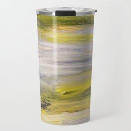 Emerald greens, speck in the wind Travel Mug