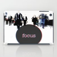 focus iPad Cases featuring focus by cubik rubik