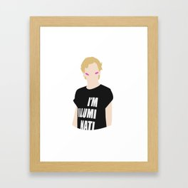 Isak - I Am Illuminati Framed Art Print