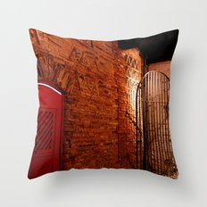 OLD HOUSE. Throw Pillow