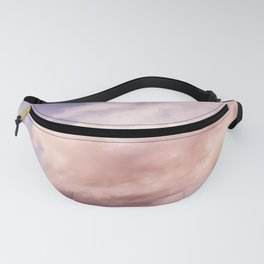 Perfect Pink Summer Sky Nature Photography Fanny Pack