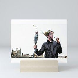 Viking thoughts Mini Art Print