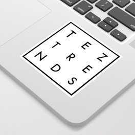 Tez Trends Logo Collection Sticker