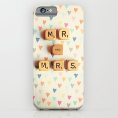 Mr and Mrs iPhone 6 Slim Case