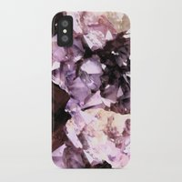 minerals iPhone & iPod Cases featuring Mira Minerals by lalaprints