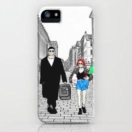 Leon and Matilda iPhone Case