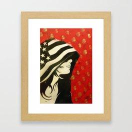 Hoodwinked Framed Art Print