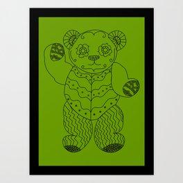 Bear of the Day Art Print