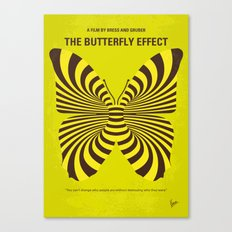 No697 My The Butterfly Effect minimal movie poster Canvas Print