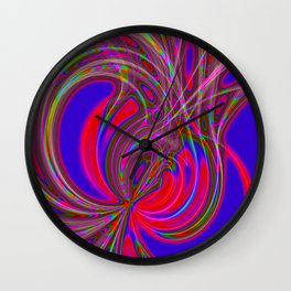 Alive 2 (neon) Wall Clock