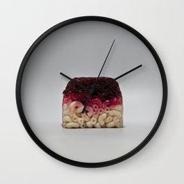 Beet Macaroni Lunchbox Wall Clock