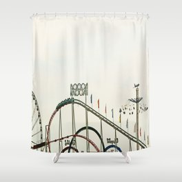 Funfair Duesseldorf Shower Curtain