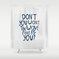darren criss Shower Curtains featuring Darren Criss - Don't You? by Jessica