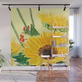 sunflower Wall Mural
