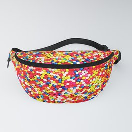 Sugar Candy Rainbow Balls Fanny Pack