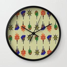keys Wall Clock