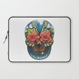 mexican skull Laptop Sleeve