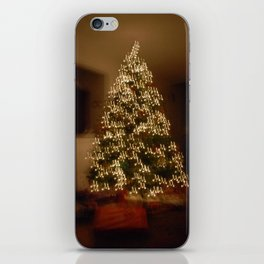 """Christmas Tree - """"M"""" for Mom iPhone Skin"""