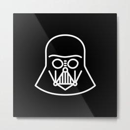 Darth Vader - wear an icon Metal Print
