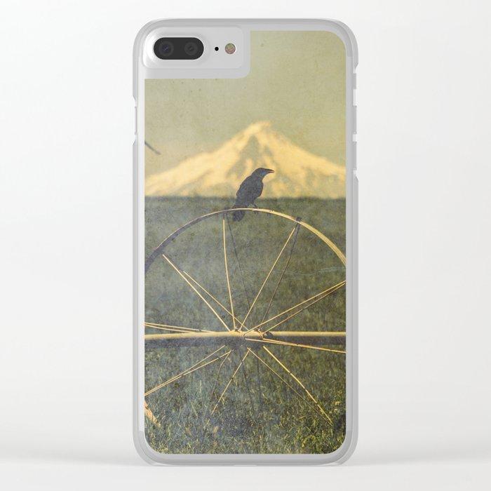 Jefferson Raven II Clear iPhone Case