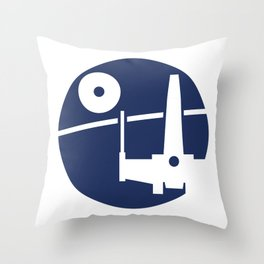 Yavin Mission Throw Pillow