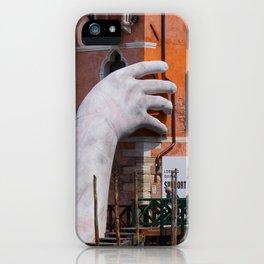 Venice hands iPhone Case
