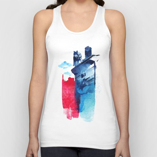 This is my town Unisex Tank Top
