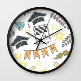 Education Wall Clock