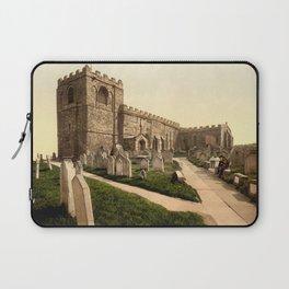 Whitby, St. Mary's Church, Yorkshire, England Laptop Sleeve