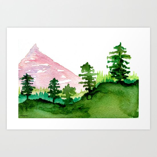 Red Mountain by pizzazzdesign