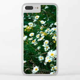 Moody Meadow Clear iPhone Case