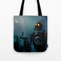 superman Tote Bags featuring Superman by samanthadoodles