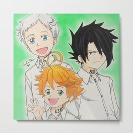 The Promised Neverland Metal Print