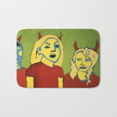 THE DEVILS Bath Mat