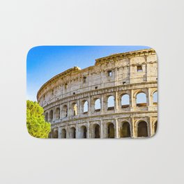 Vita Bellissima (Beautiful Life): Colosseum in Rome, Italy Bath Mat