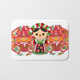 Maria 5 (Mexican Doll) Bath Mat