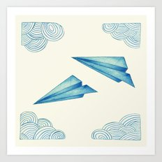 High Flyer Art Print