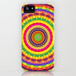 Batik Bullseye iPhone Case