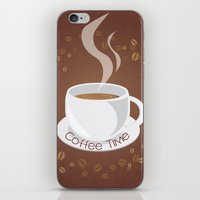 cafe iPhone & iPod Skins featuring Cafe by lythy