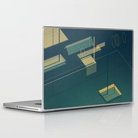 pool Laptop & iPad Skins featuring Pool by Maxime Chillemi