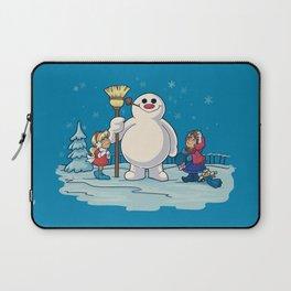 Let's Build a Snowman! Laptop Sleeve